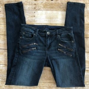 KUT FROM THE KLOTH Zipper Detail Diana Skinny Jean